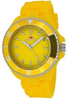 Seapro Women's SP7417 Bubble Analog Display Swiss Quartz Yellow Watch