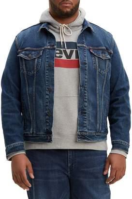 Levi's Big Tall Denim Trucker Jacket