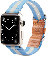 Toms band for Apple Watch Utility 38mm Light Blue Stripe