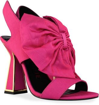 Kat Maconie Dana Bow Slingback Sandals