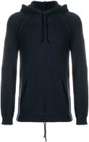 Roberto Collina drawstring knitted hoodie