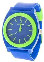 Airwalk Quartz Plastic and Silicone Casual Watch, Color:Blue (Model: AWW-5096-BL)