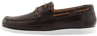 Oliver Sweeney Sweeney London Lufton Boat Shoes Brown