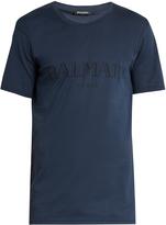Balmain Logo-print cotton-jersey T-shirt