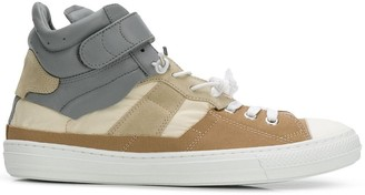 Maison Margiela lace-up hi-top sneakers