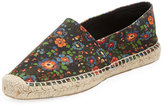 Isabel Marant Cana Floral-Print Espadrille Flat, Multi