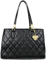 Marc B Melrose Quilted Black Handbag