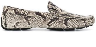 Just Cavalli Snakeskin Loafers