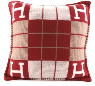 Hermes Avalon III Pillow Wool and Cashmere Small