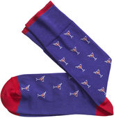 Johnston & Murphy Martini Glasses Socks