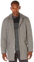 Perry Ellis Long Sleeve Wool Overcoat