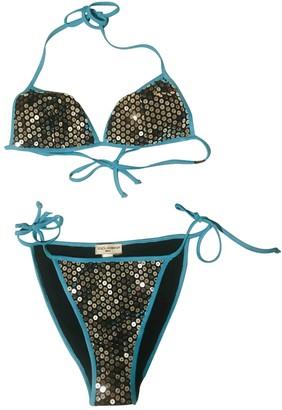 Dolce & Gabbana Silver Synthetic Swimwear