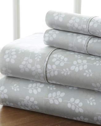 IENJOY HOME Wheat 4-Piece Bed Sheet Set, California King