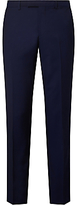 John Lewis Woven In Italy Mohair Tonic Tailored Suit Trousers, Blue