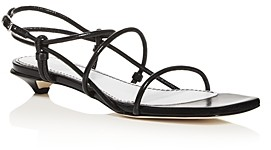 Proenza Schouler Women's Kitten-Heel Strappy Sandals