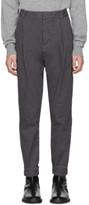 Robert Geller Grey Casual Dress Trousers