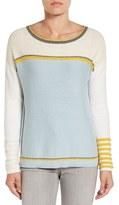 Caslon Button Back Sweater (Regular & Petite)