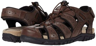 Geox Strada (Brown/Sand) Men's Shoes