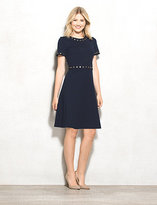 dressbarn roz&ALI Ponte Studded Dress Petite
