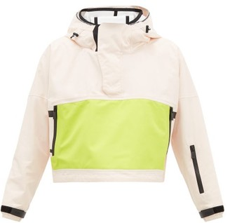 TEMPLA Cropped Bio-shell Hooded Anorak - Womens - Pink