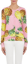 Dolce & Gabbana Women's Pineapple-Pattern Silk Cardigan-PINK