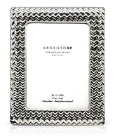 Bloomingdale's Argento Sc 5 x 7 Chevron Frame