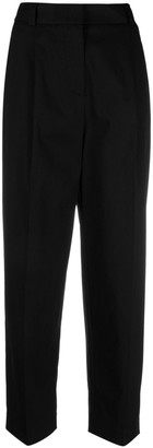 Merci Pressed-Crease Cropped Trousers
