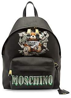 Moschino Women's Dollar Bear Backpack
