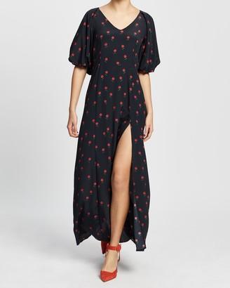 NEVER FULLY DRESSED Valentina Maxi Dress