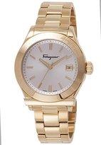 Salvatore Ferragamo Men's FF3890015 1898 Gold Ion-Plated Stainless Steel Watch
