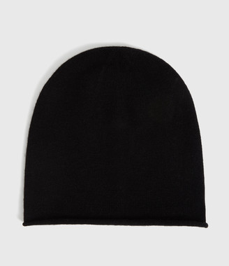 AllSaints Self Rolled Edge Beanie