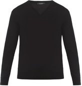 Ermenegildo Zegna V-neck wool sweater