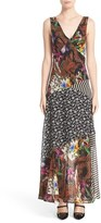 Etro Women's Floral Jungle Print Silk Dress