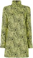 Marni printed tunic blouse