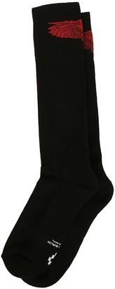 Marcelo Burlon County of Milan Wings Mid-calf Socks