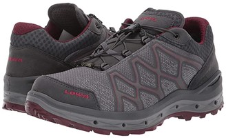 Lowa Aerox GTX(r) Lo Surround(r) (Grey/Berry) Women's Shoes