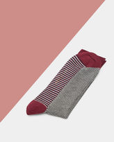 PLANMAN Geo organic cotton socks