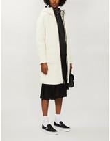 Selfridges Bape Hooded teddy coat