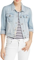 Paige Vivienne Denim Jacket in Talisa
