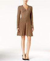 INC International Concepts Petite Chevron Sweater Dress, Only at Macy's