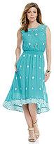 Nurture Embroidered High-Low Dress