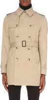 Sandro Magnetic Cotton-twill Trench Coat