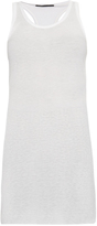 Haider Ackermann Ribbed jersey tank top