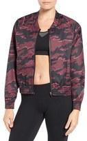 Ivy Park Women's Camo Print Woven Bomber Jacket