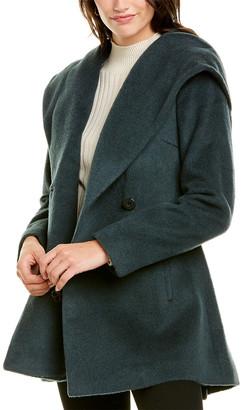 trina Trina Turk Trina By Trina Turk Amelia Wool & Alpaca-Blend Coat