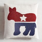 Pier 1 Imports Donkey Election Party Pillow
