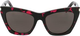 Saint Laurent Eyewear Kate Cat Eye Sunglasses