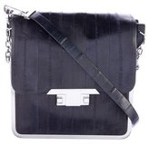 Theyskens' Theory Eel Skin Frame Crossbody Bag