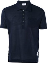 Thom Browne classic polo shirt - men - Cotton - 0