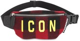 DSQUARED2 ICON CHECKED WOOL BELT BAG